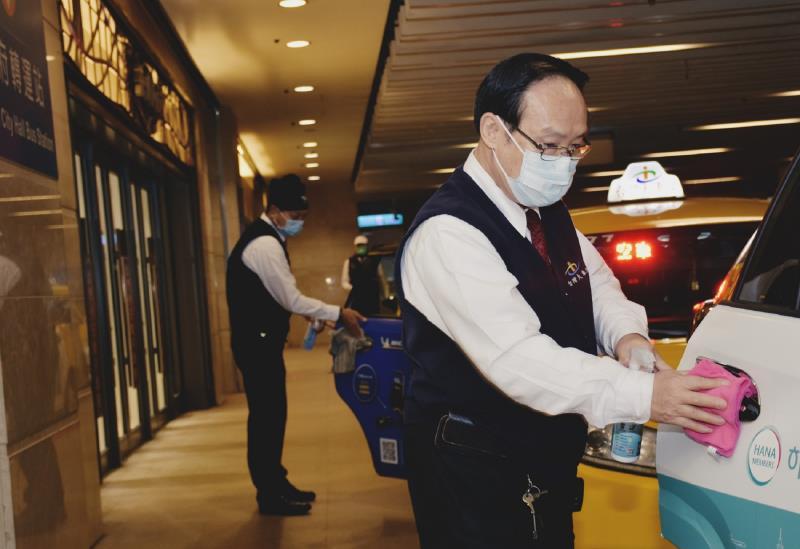 因應疫情為持續給予司機們更多支持,台灣大車隊推出升級「隊員防疫照顧關懷」五大措施。