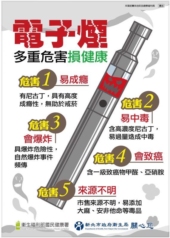 守護青少年免於電子煙危害 新北8月6日啟動管理自治法