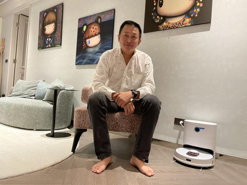Roidmi睿米 全自動無線掃拖機器人Eve Plus登台
