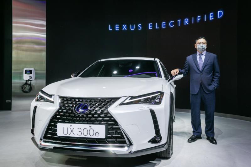 引頸期盼 LEXUS UX 300e 正式發表