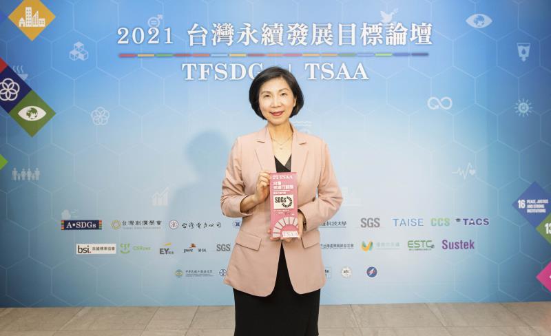 遠傳電信總經理井琪表示,遠傳持續以核心技術能量發展經濟、社會、環境等不同面向的創新專案,善盡企業社會責任。