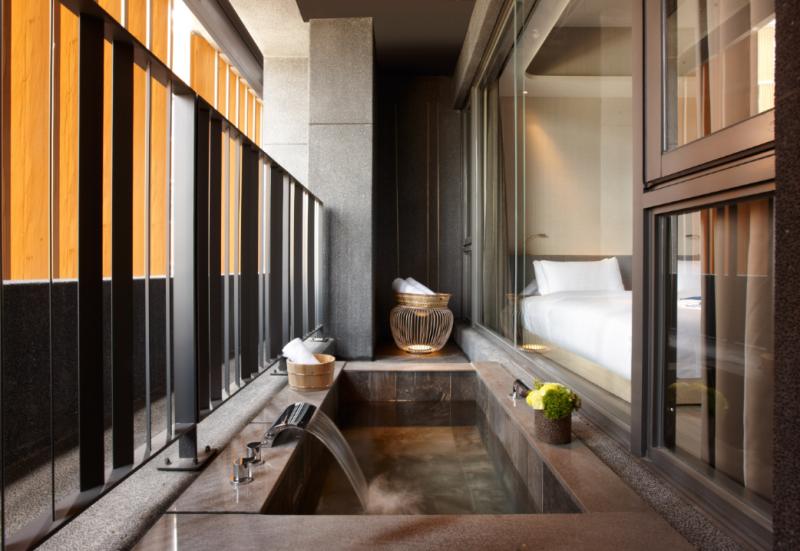 旅人專享客房半露天溫泉風呂,三天兩夜假期,四人同行,每人只要1,600元起。