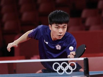林昀儒東奧桌球挑戰中國隊樊振東 要打出自己沒想到的球