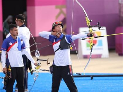 湯智鈞、魏均珩晉級 東奧射箭32強上演台灣內戰