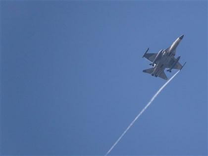 漢光演習最後一天 IDF戰機執行連續反擊作戰
