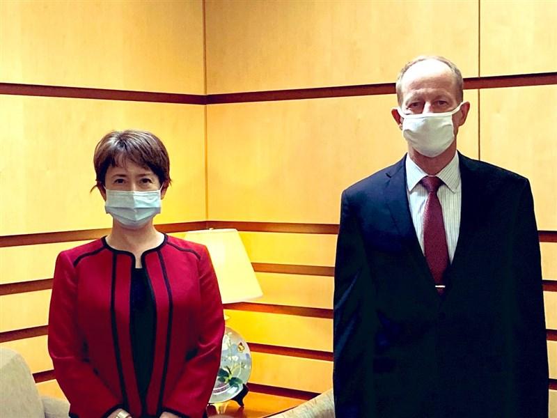 蕭美琴會晤美國務院亞太助卿 期待推進台美關係 | 政治 | 重點新聞 |
