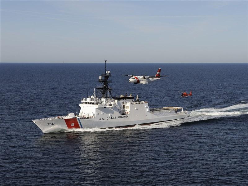 反制中國漁業騷擾 美國海防隊派艦巡防西太平洋