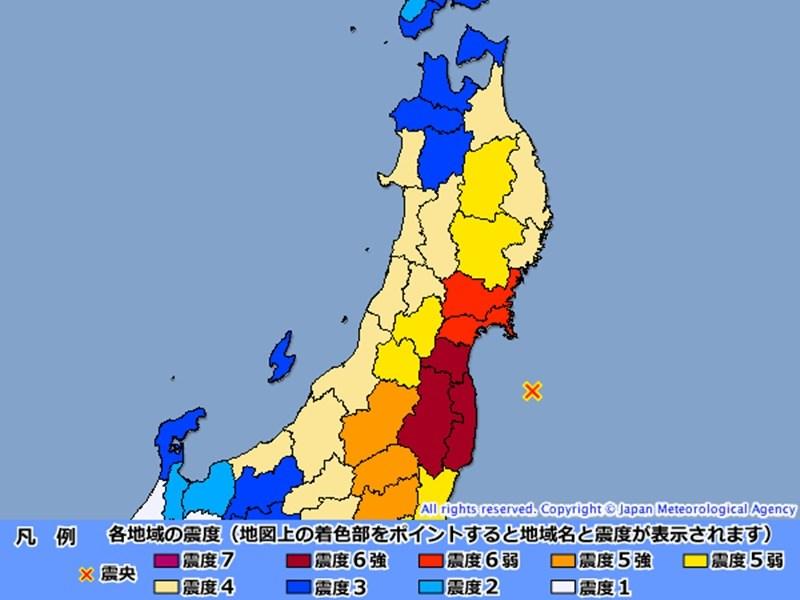 市 地震 福島