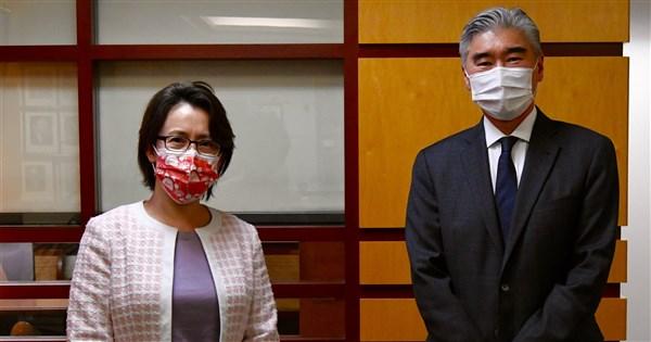 蕭美琴會亞太助卿 美國務院:致力深化與台灣關係   國際   重點新聞